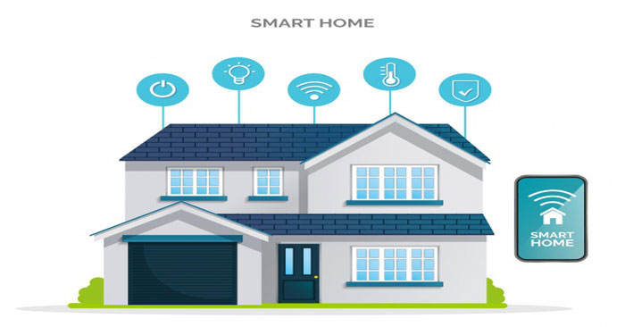 نظام المنازل الذكية