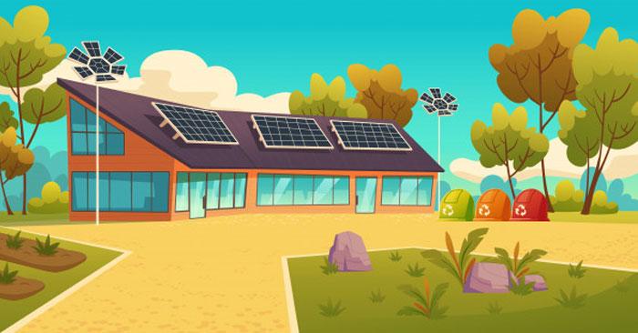 استخدامات الطاقة الشمسية للمنازل