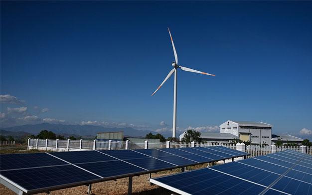 محطات الطاقة الشمسية فى مصر